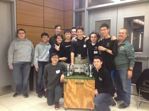 Robotics Team Wins Big