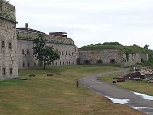 Fort Adams in the Civil War